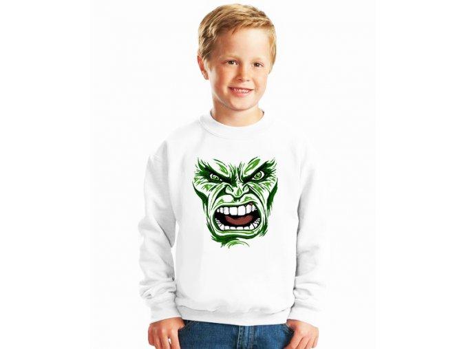 dětská mikina Hulk