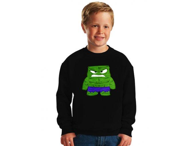 dětská mikina Hulk naštvaný