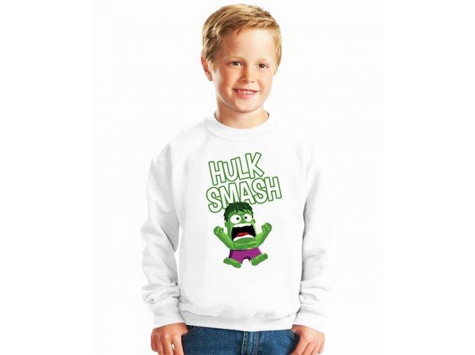 dětská mikina Hulk rozmlátit