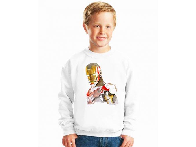 dětská mikina Iron man brnění
