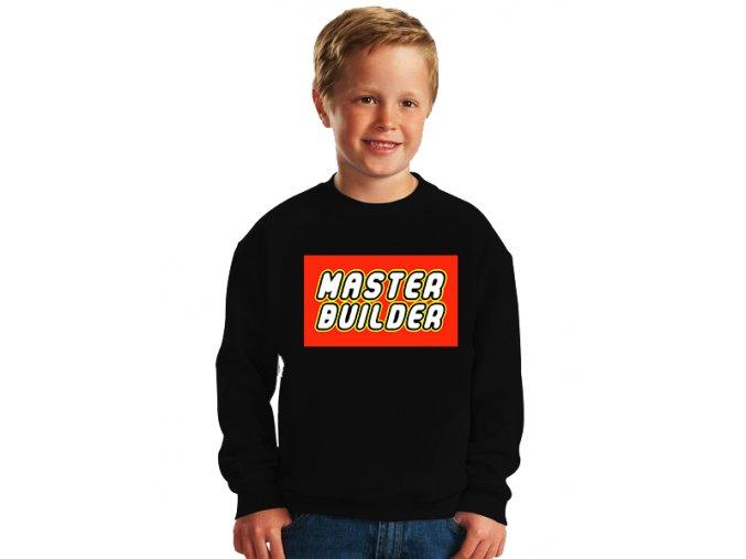 dětská mikina Lego Mistr stavitel