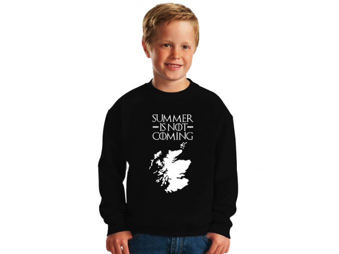 dětská mikina Léto nepřichází Game of Thrones