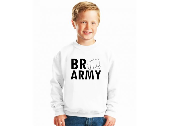 dětská mikina Pewdiepie Brofist army