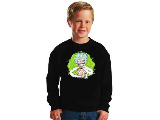 dětská mikina Rick and Morty