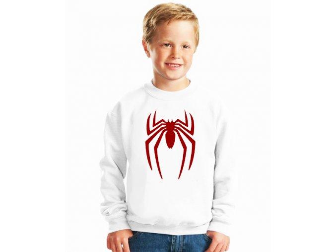 dětská mikina Spiderman pavouk