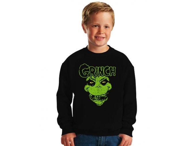dětská mikina The Grinch Obličej