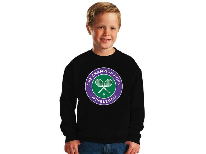 dětská mikina Wimbledon vítěz