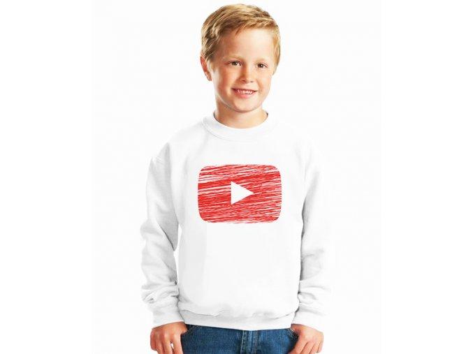 dětská mikina Youtube