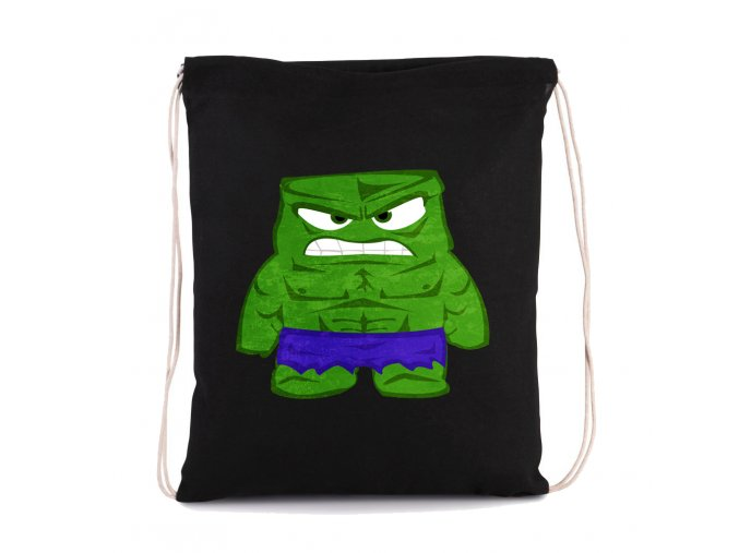 vak Hulk naštvaný