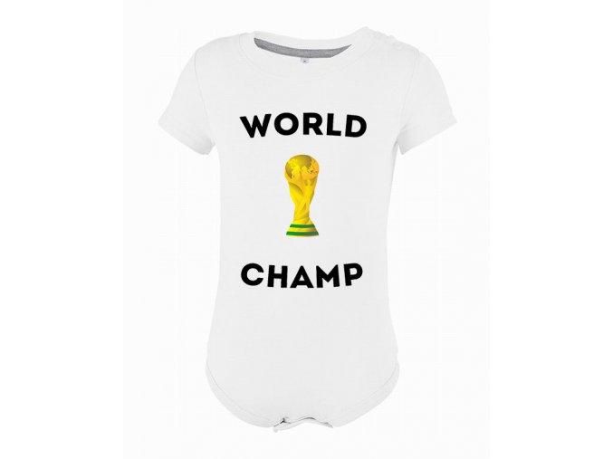 Kojenecké body Fotbal mistr světa