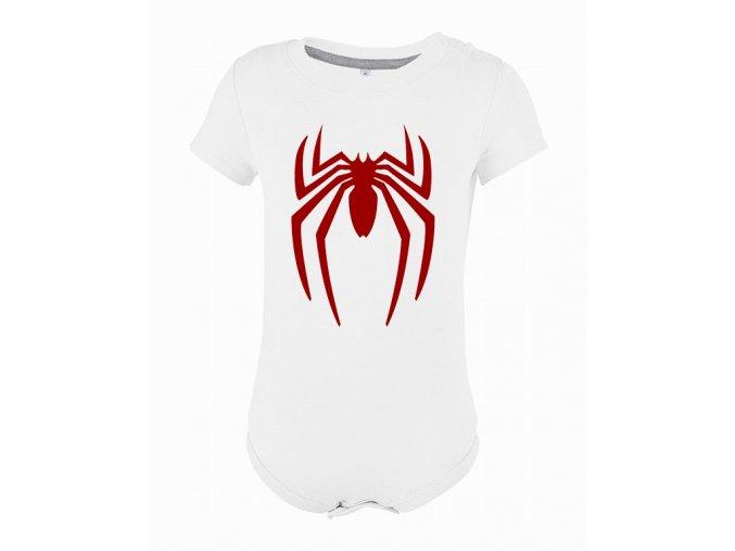 Kojenecké body Spiderman pavouk