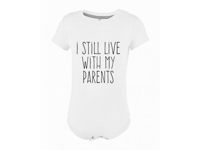 Kojenecké body bydlím u rodičů