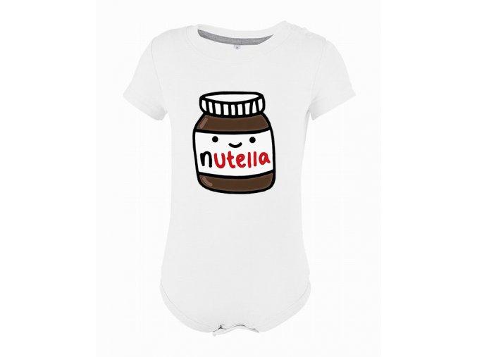Kojenecké body nutella