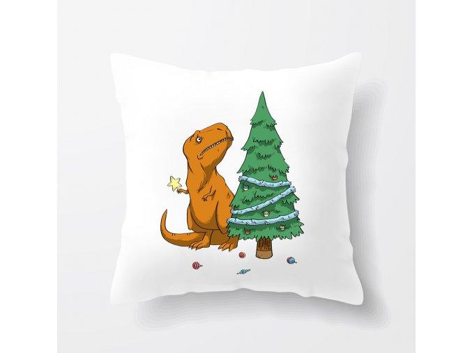 polštář Vánoční stromeček