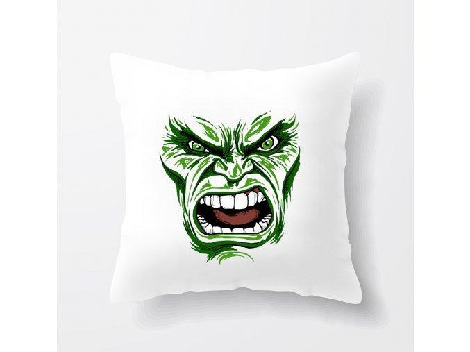 polštář Hulk