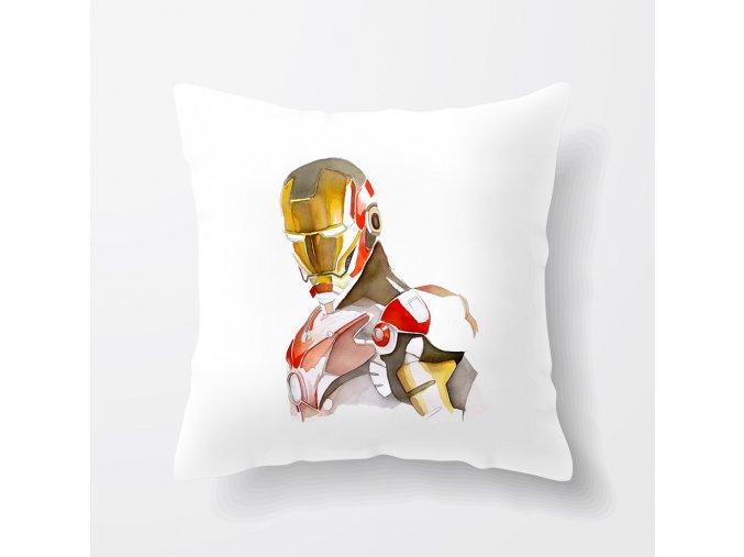 polštář Iron man brnění