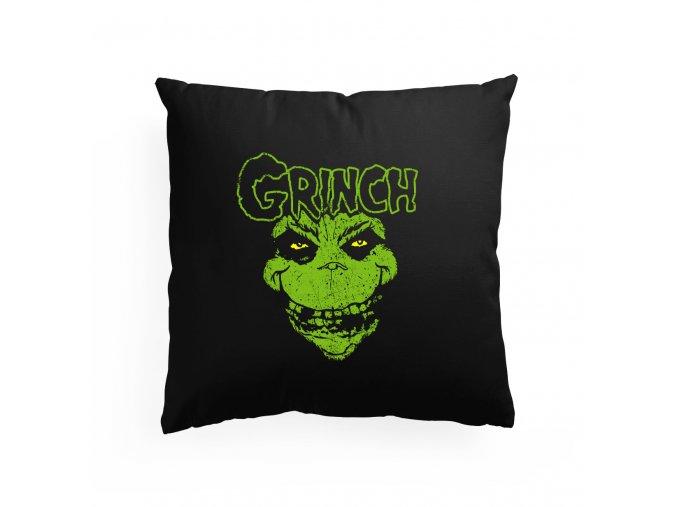 polštář The Grinch Obličej