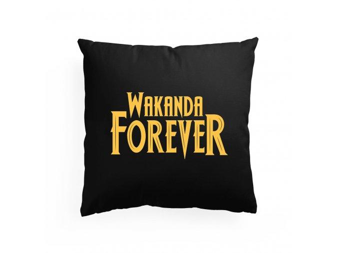 polštář Wakanda navždy