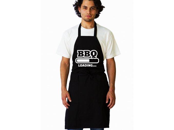 Zástěra BBQ se načítá