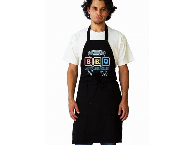 Zástěra BBQ Zelenáč