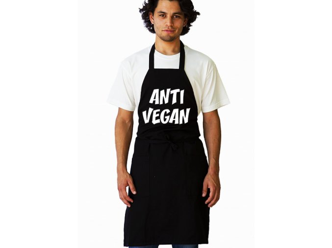 Zástěra Anti vegan