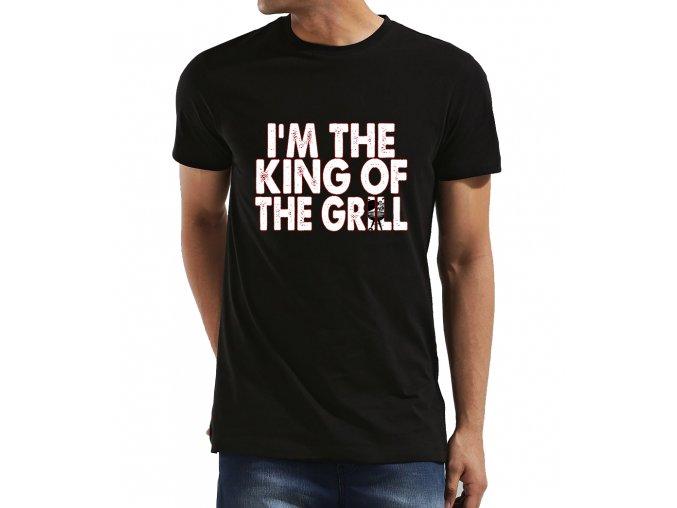 Pánské tričko Král Grilu