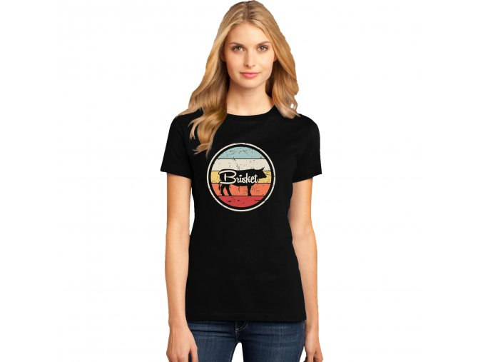 Dámské tričko Bůček grilování