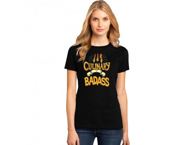 Dámské tričko Kulinářský borec