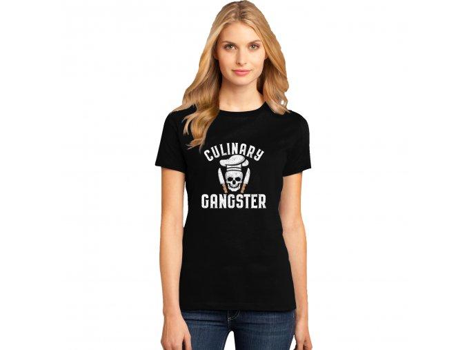Dámské tričko Kulinářský gangster