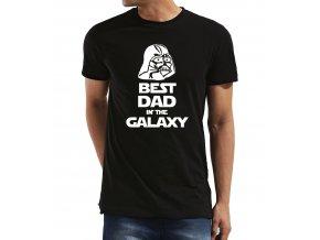 Pánské tričko pro tatínka Star Wars Nejlepší táta v galaxii