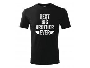 Pánské tričko pro bráchu Nejlepší velký brácha