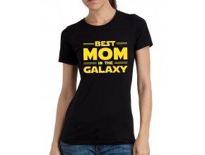 Dámské tričko pro maminku Nejlepší máma v galaxii