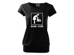 těhotenské tričko konec hry mám miminko