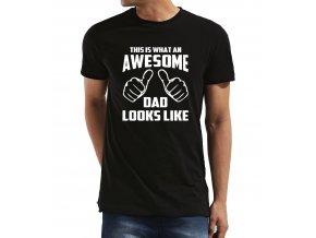 Pánské tričko pro tatínka Takhle vypadá úžasný táta