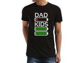 Pánské tričko pro tatínka Táta vs Děti