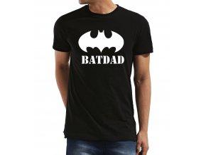Pánské tričko pro tatínka Batman Bat Táta