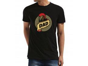 Pánské tričko pro tatínka Sparťan Táta