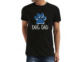 Pánské tričko pro tatínka Táta pes