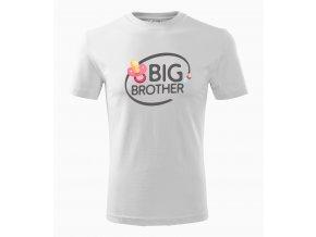 Pánské tričko pro bráchu Velký brácha dudlík