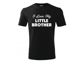 Pánské tričko pro bráchu Mám rád svého malého brášku