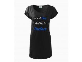 Těhotenské šaty Je to chlapeček a je perfektní