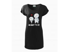 Těhotenské šaty Máma,mumie budu
