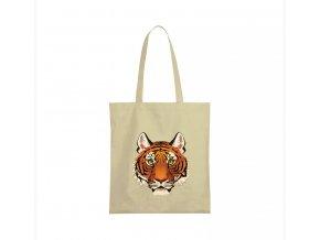 nákupní taška béžová Lev král