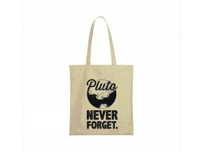 nákupní taška béžová Planeta Pluto