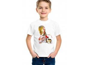 Dětské tričko Iron man brnění