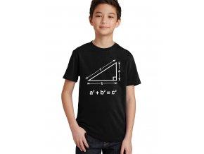 dětské tričko Pythagorova věta