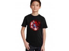 Dětské tričko Kapitán amerika a hydra