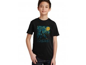 Dětské tričko Harry Potter škola