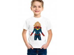 Dětské tričko Kapitán marvel