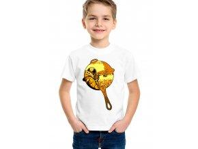 Dětské tričko Fortnite pánev